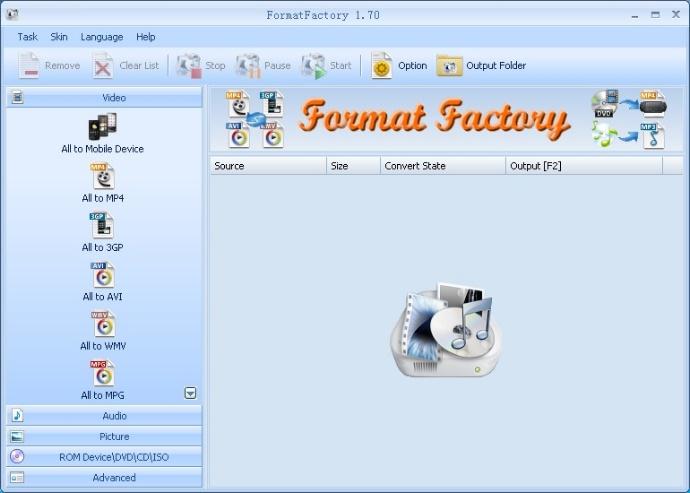 FormatFactory (格式工廠)萬能的影音轉檔工具軟體。最受歡迎影片轉檔工具 - WEDO網頁設計公司