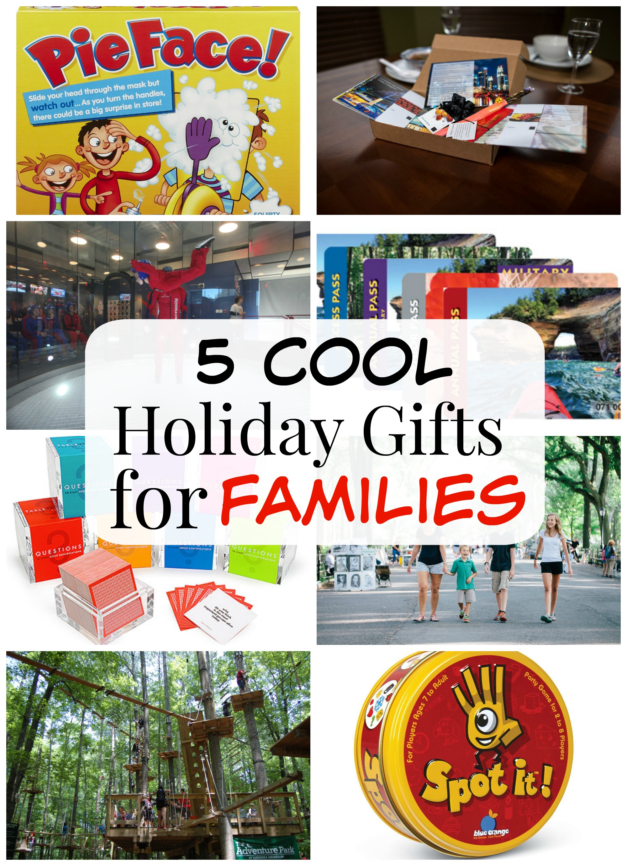 5 Cool Holiday Ts For Families