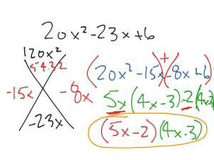 math drilling factoring
