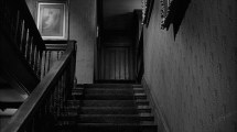 Creepy Dark Basement Stairs
