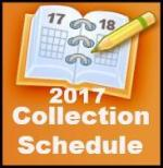 2017 Collection Schedule
