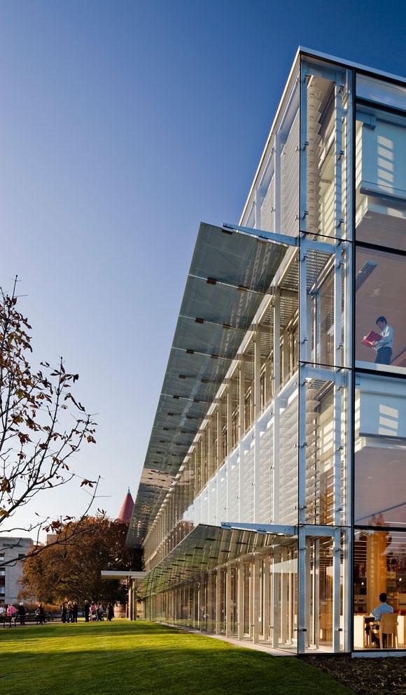 Cambridge Public Library Exterior