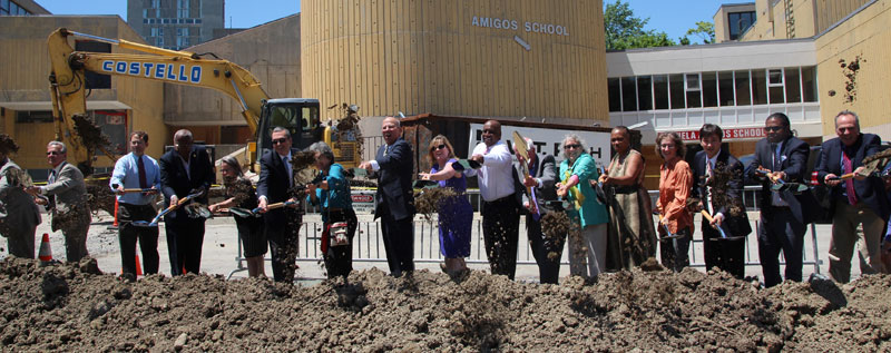 MLK School Groundbreaking
