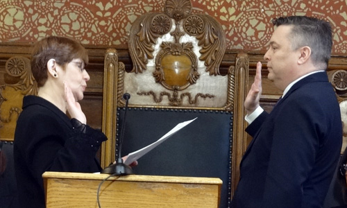 Mayor McGovern oath