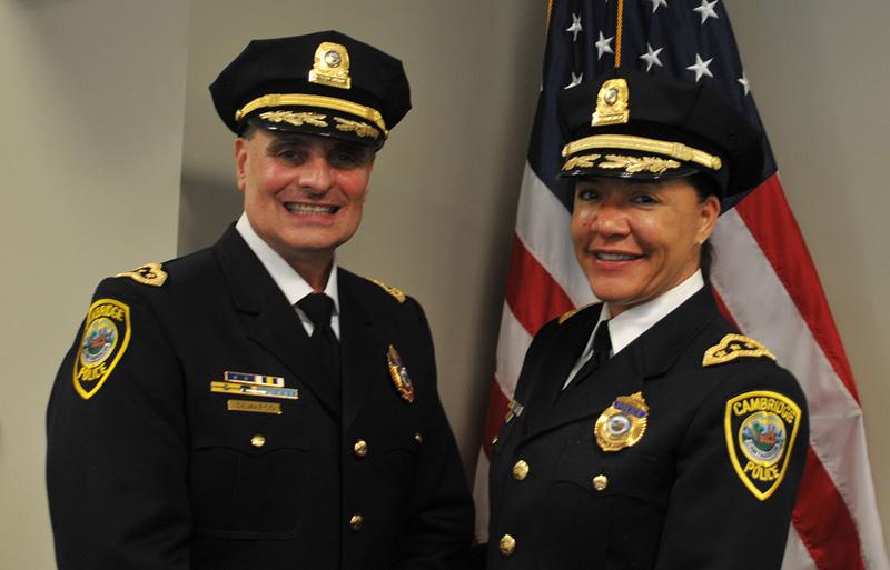 Superintendents Steven DeMarco & Christine Elow