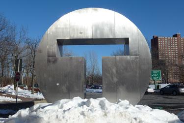 Alewife T Sculpture