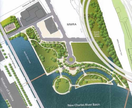 North Point Park plan