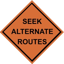 Seek Alternate Routes