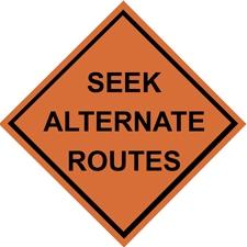Seek Alternate Routes