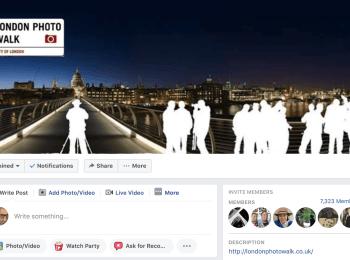 London Photo Walk – Facebook Group