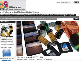 AG Photo Lab – Digital and Analogue Printing and Supplies