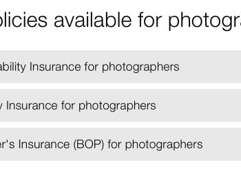 Insurance for Photographers – Hiscox