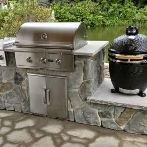 Nu Rock Creations Outdoor Kitchen