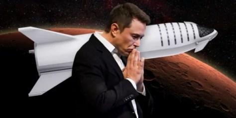 Илон Маск может отказаться от идеи полёта людей в космос