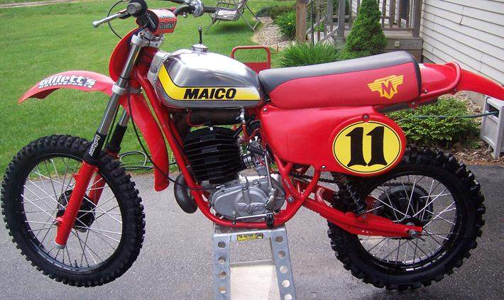 Your Collection 1979 Maico 440 Magnum  Racer X Online