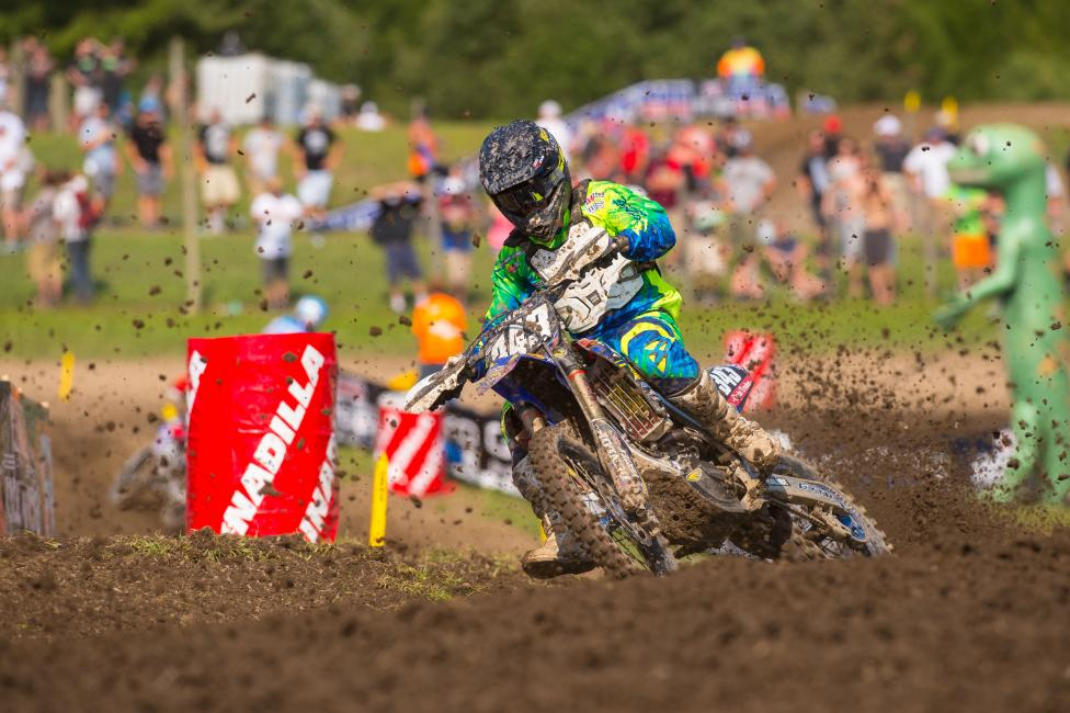 Renzland's best finish was a fifteenth at Unadilla.