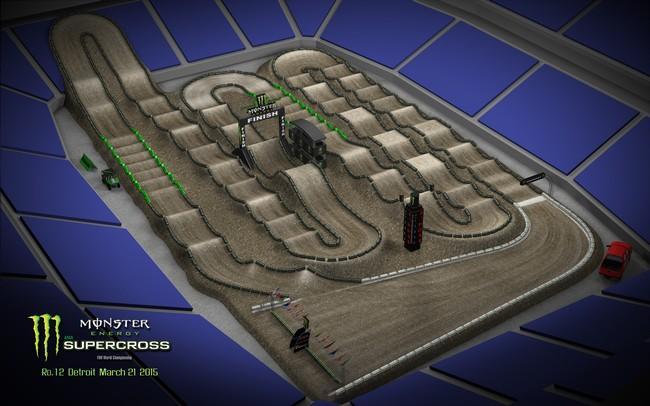 2015 Monster Energy Supercross Track Designs Released