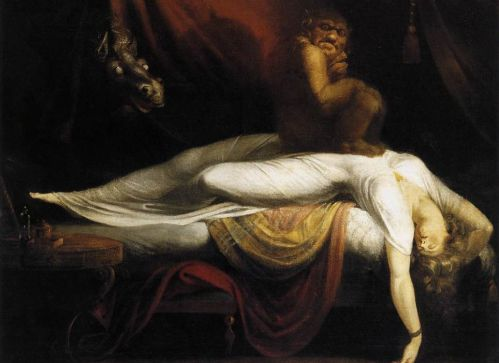 nightmare paralasis