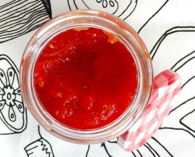 Mermelada de tomate [Receta Fitness]