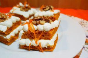 Tarta zanahoria saludable