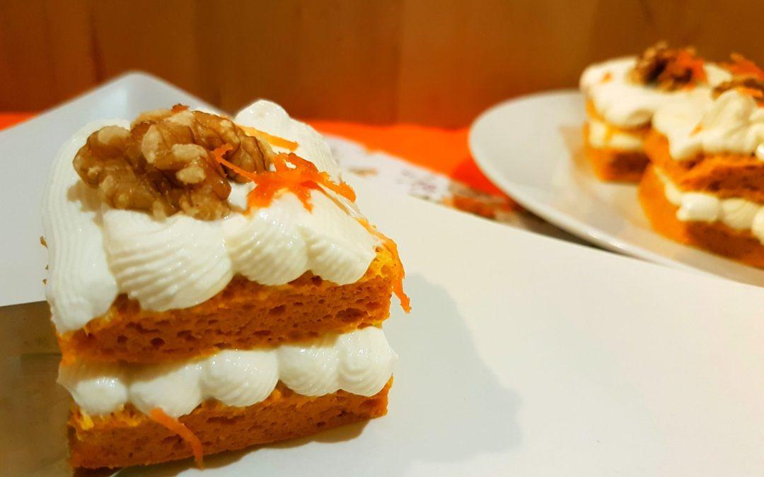 Pastel de zanahoria en 5 minutos recetas fitness rxfitters - Bizcocho microondas 3 minutos ...