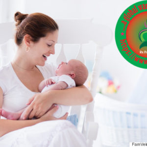 www.rxharun.com/Young mother and newborn baby in white bedroom