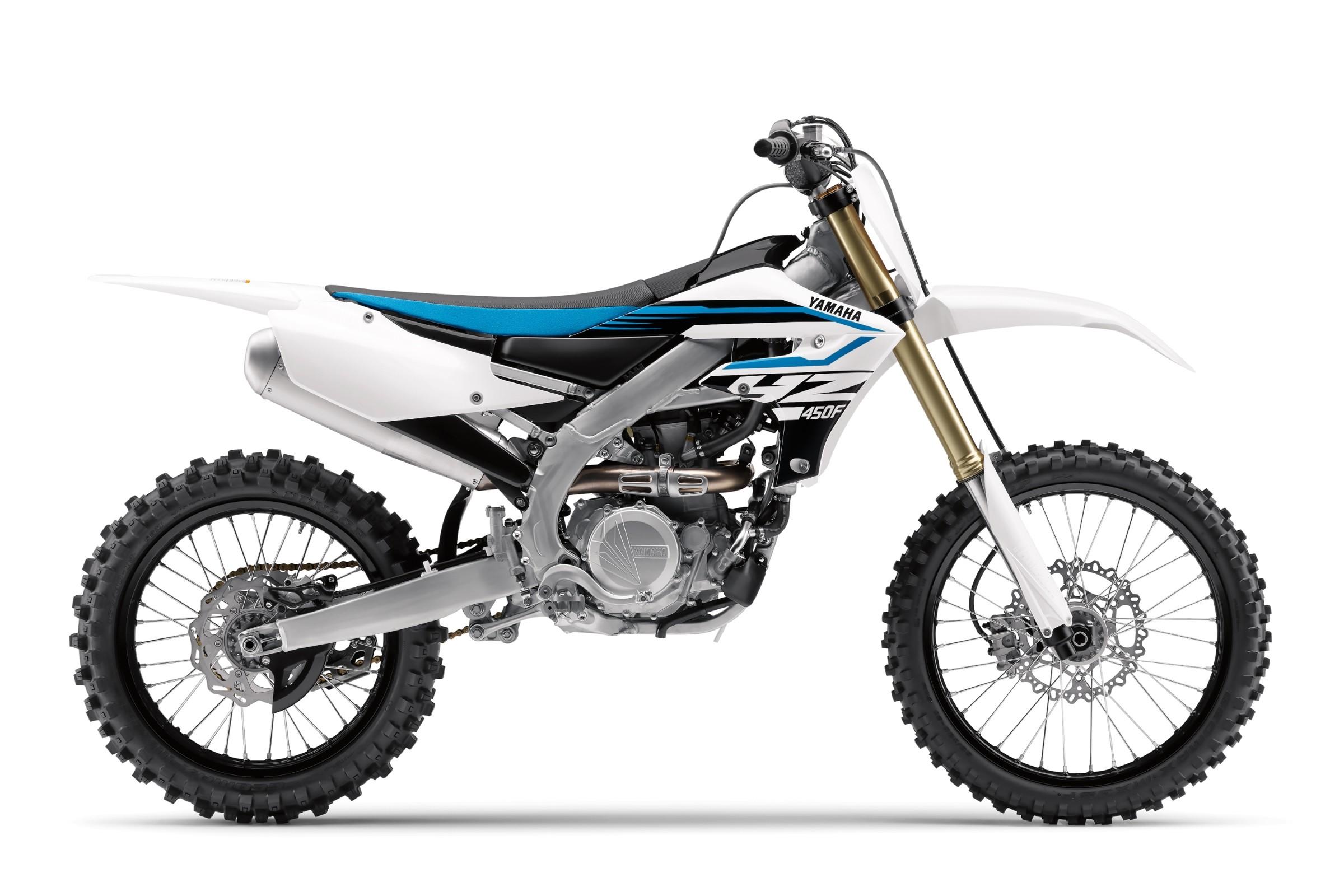 The All New Yamaha Yz450f