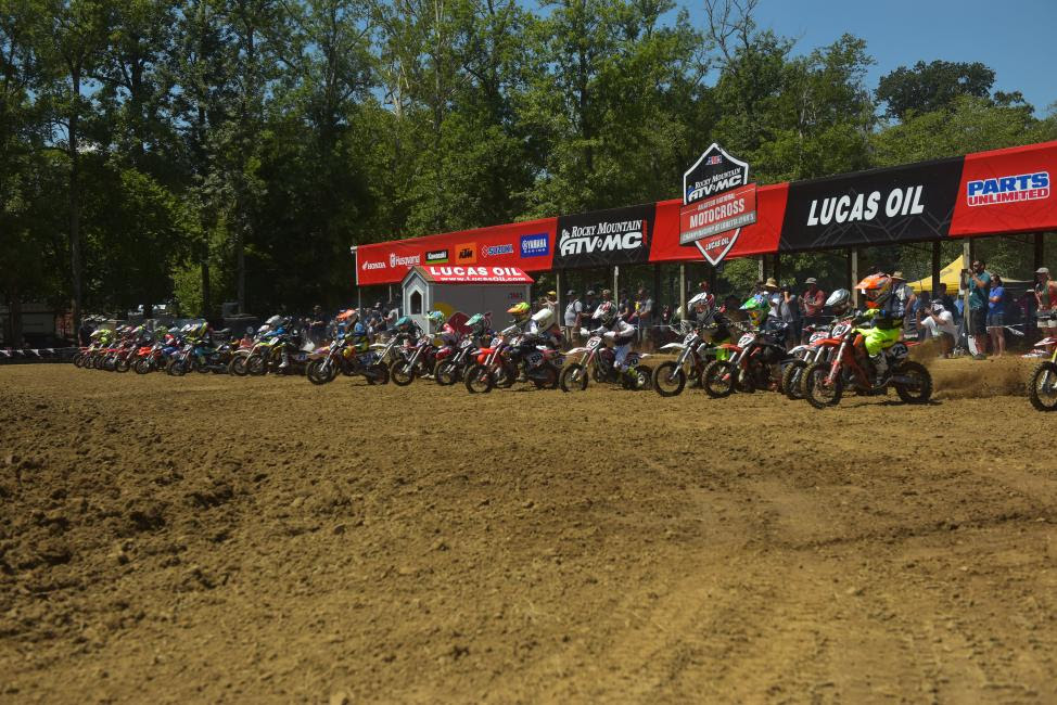 Racing concluded Saturday, and thirty-five National Champions were crowned.