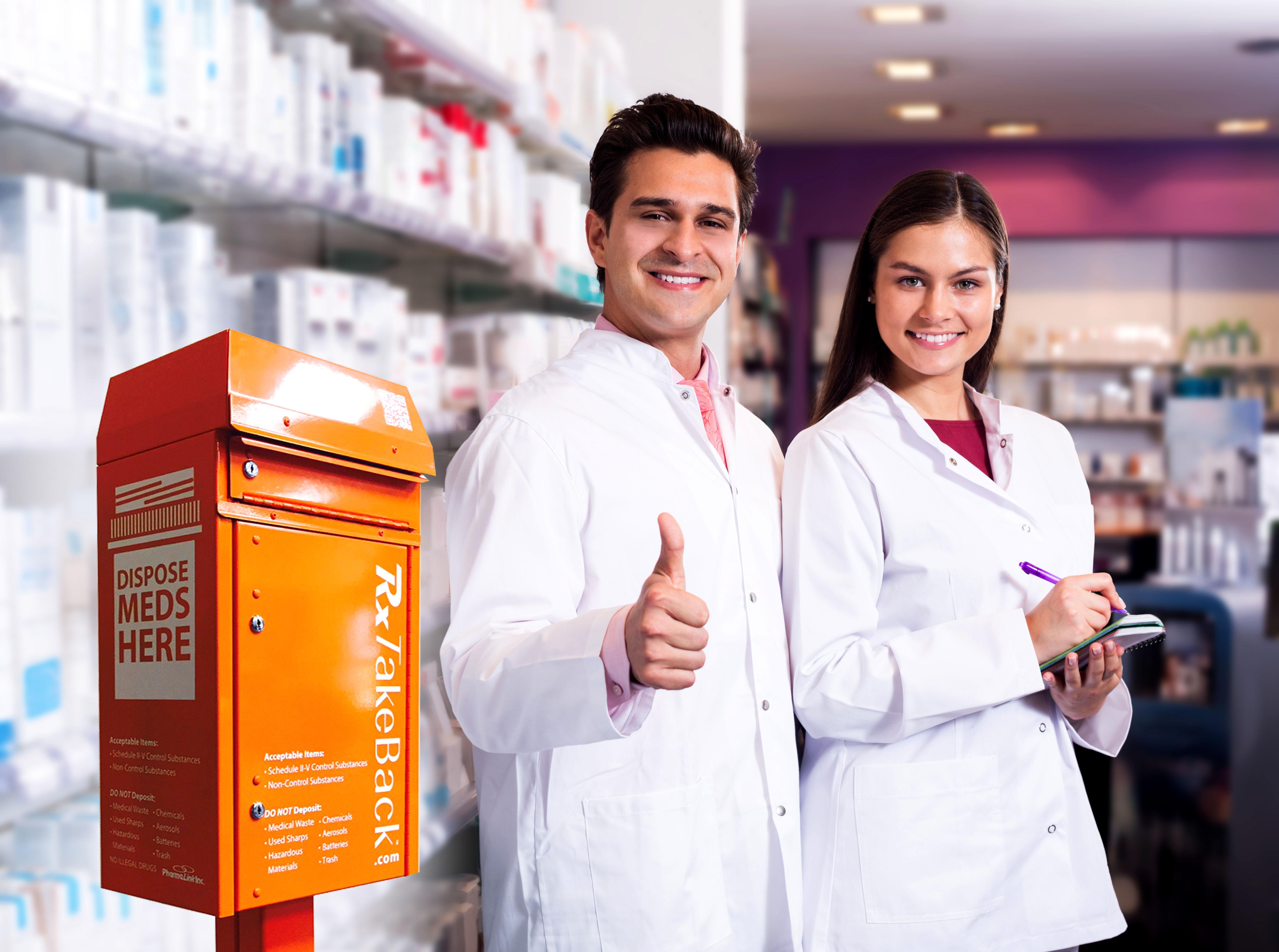 RxTakeBack kiosk Team