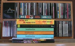 """Books I'm Reading"", by sdobie, on flickr - http://www.flickr.com/photos/sdobie/5011903354/"