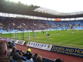 Match action against Burnley