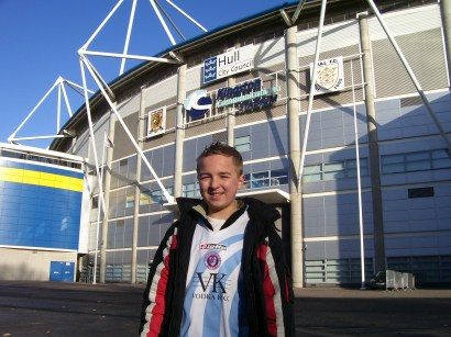Outside the KC Stadium