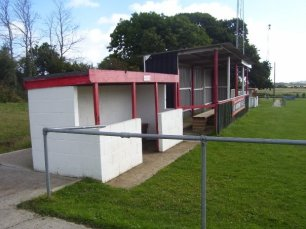 The dugout and stand