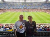 The Watterson's at the Camp Nou!