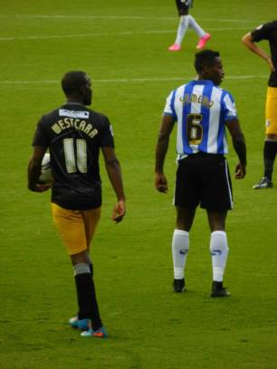 Craig Westcarr and Jose Semedo, scorer of Wednesday's second