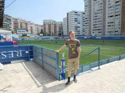 My first Spanish 4th division ground!