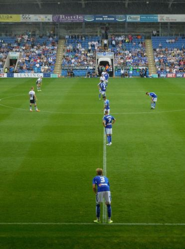 Second half kick off
