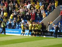 Burton snatch the victoy in stoppage time