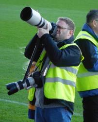 Mansfield fan and photographer Dan Westwell
