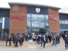 The Proact Stadium hosts Sheffield United for the third time in it's history