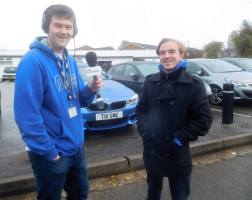 Interviewed my Joshua Smith of BBC Radio Derby prior to the game