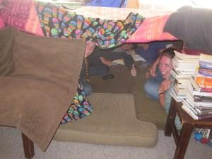 Blanket fort time