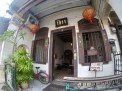 We stayed in an attic room above Cafe 1511 in the old Peranakan servant house.
