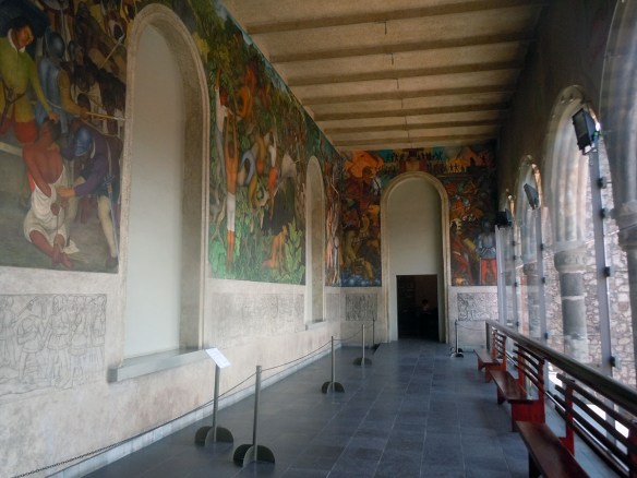 Diego Rivera in Cortezs' Castle