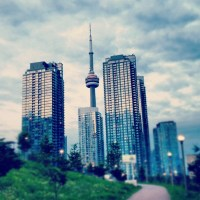 PROJECT: CN Tower via Instagram Filters