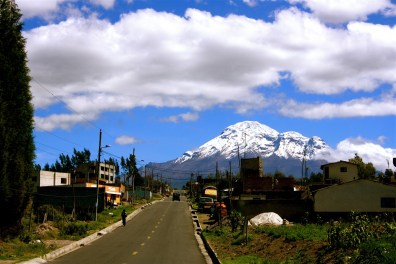 Volcano in Ecuador