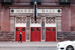 The legendary Massey Hall.