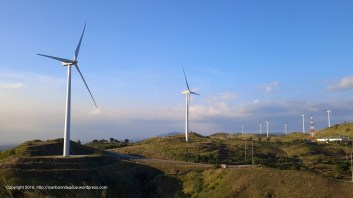 Windmills in the Philippines