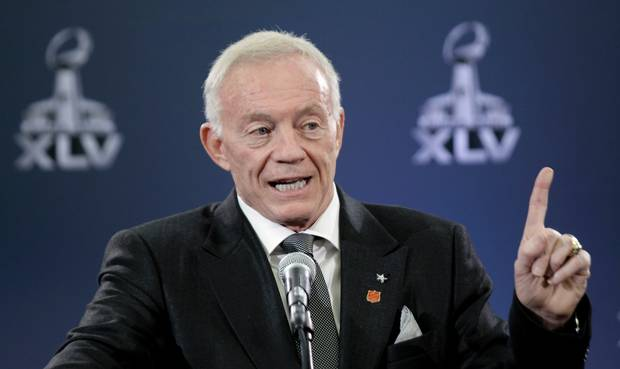 Jerry Jones Quote in 2000 from Dallas Cowboys' Decade of Futility by Ryan Bush