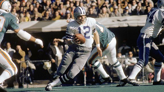 Roger Staubach Makes Cowboys This Year's Champions
